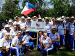 Lomničtí sokolové se poprvé zúčastnili celosvětové akce Gymnaestráda v rakouském Dornbirn