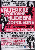 Valteřické sportovně hudební odpoledne 2019