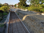 Rekonstrukce Nádražní ulice a silnice II/610 až na hranici kraje v polovině července 2019