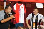 Poločasová dražba dresů Tomáše Součka a Tomáše Rosického