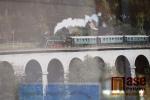 Výstava Jede jede mašinka v hale nádraží v Turnově