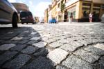 Rekonstruovaná Komenského ulice v Nové Pace
