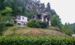 Požár rodinného domu v Kacanovech