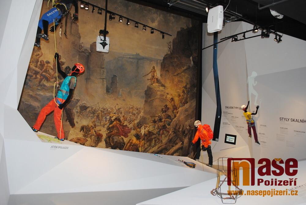 Nová stálá expozice horolezectví v Muzeu Českého ráje v Turnově<br />Autor: Petr Ježek
