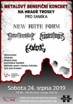 Benefiční metalový koncert na hradě Trosky pro Samíka