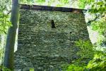 Trosky gotického hradu Štěpanice