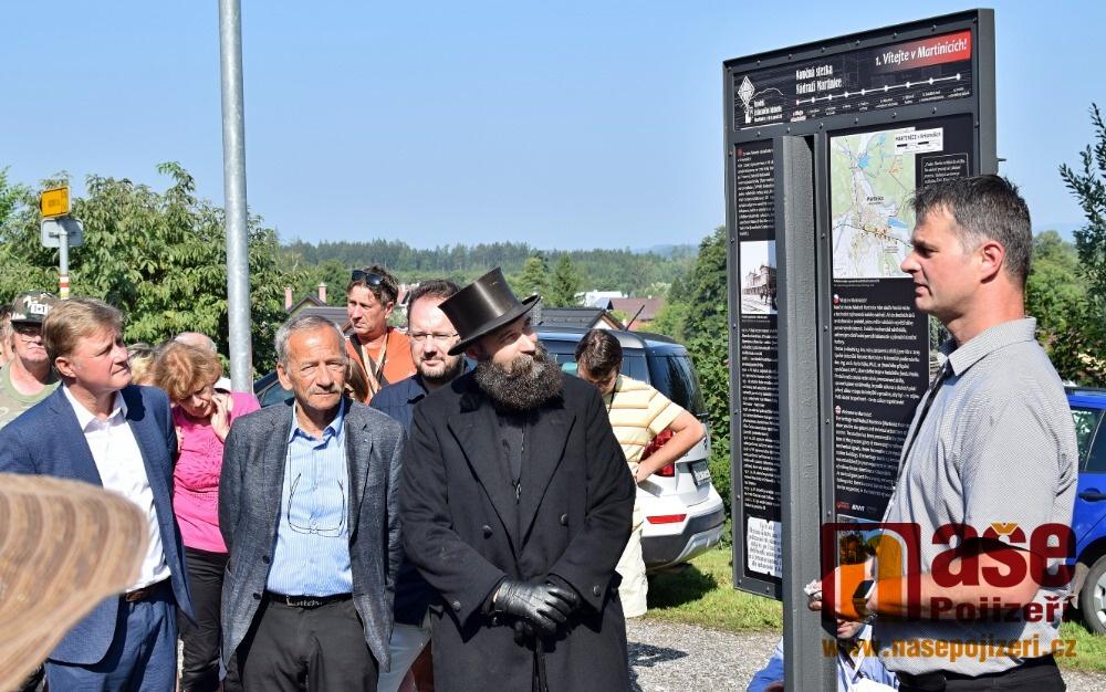 Oslava 120 let železniční lokálky Martinice - Rokytnice<br />Autor: Zdeněk Horák