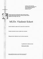 Zemřel bývalý místostarosta Turnova a lékař Vladimír Eckert