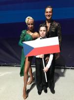 Taneční pár Marek Bureš s Anastasií Iermolenko