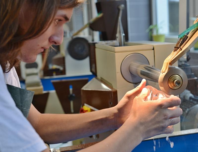 Otevření COV na Střední uměleckoprůmyslové škole sklářské v Kamenickém Šenově<br />Autor: Archiv KÚ Libereckého kraje