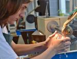 Otevření COV na Střední uměleckoprůmyslové škole sklářské v Kamenickém Šenově