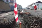 Aktuální stav rekonstrukce Nádražní ulice v Turnově v polovině září 2019
