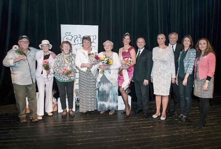 Den seniorů a vyhlášení Babičky roku v KC Střelnice Turnov<br />Autor: Archiv KÚ Libereckého kraje
