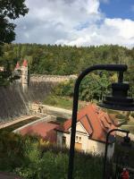 Prohlídka elektrárny Les Království