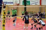 utkání 1. volejbalové ligy kadetek TJ Zikuda Turnov - SK Meteor Praha