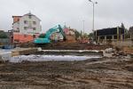 Rekonstrukce ulice Nádražní a silnice II/610 na začátku října 2019