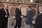 Hrdina Ivo Raisr převzal od hejtmana Záslužnou medaili I. stupně