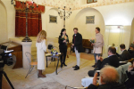 Beseda s eurokomisařkou Věrou Jourovou v turnovské synagoze