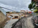 Rekonstrukce Nádražní ulice v Turnově v říjnu 2019