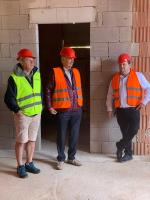 Stavba nové budovy záchranky v Rokytnici nad Jizerou