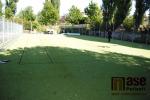 Rekonstruované hřiště při Obchodní akademii, Hotelové škole a Střední odborné škole Turnov
