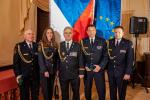 Slavnostní předávání medailí a plaket HZS ČR příslušníkům a osobnostem
