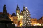 Foto z minulých ročníků vánočních trhů na Staroměstském náměstí