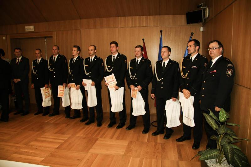 Tradiční setkání reprezentantů v požárním sportu v Libereckém kraji<br />Autor: Lucie Hložková