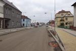 Listopadové aktuality z průběhu prací v Nádražní ulici v Turnově