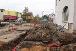 Rekonstrukce Nádražní ulice v Turnově v listopadu 2019