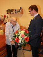 Turnovský divadelník a kynolog Miloslav Holas oslavil 100. narozeniny