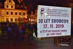 Obrazem: Oslava 30 let svobody ve Vrchlabí