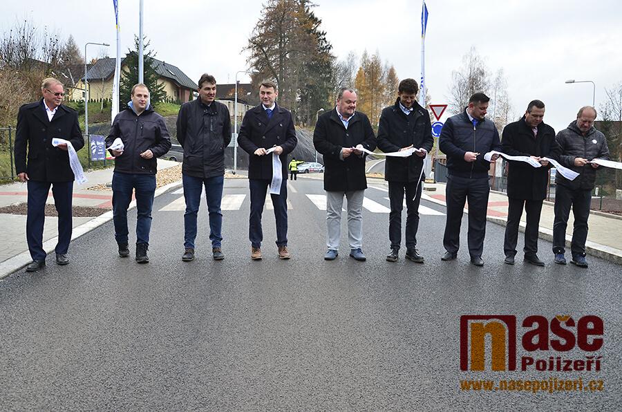 Slavnostní otevření rekonstruované Žižkovy ulice v Jilemnici<br />Autor: Vratislav Pospíchal