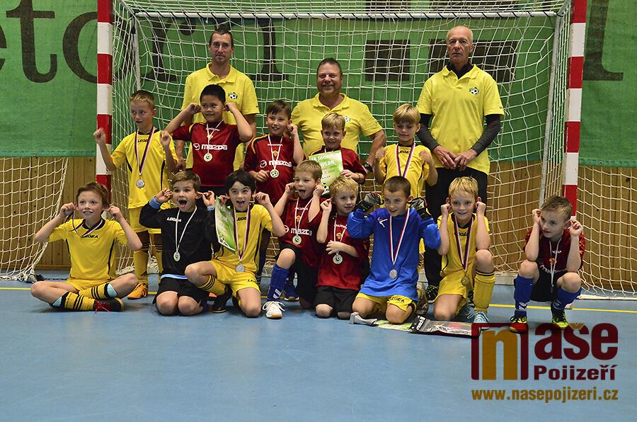 Fotbalový turnaj mladších přípravek v jilemnické hale<br />Autor: Vratislav Pospíchal