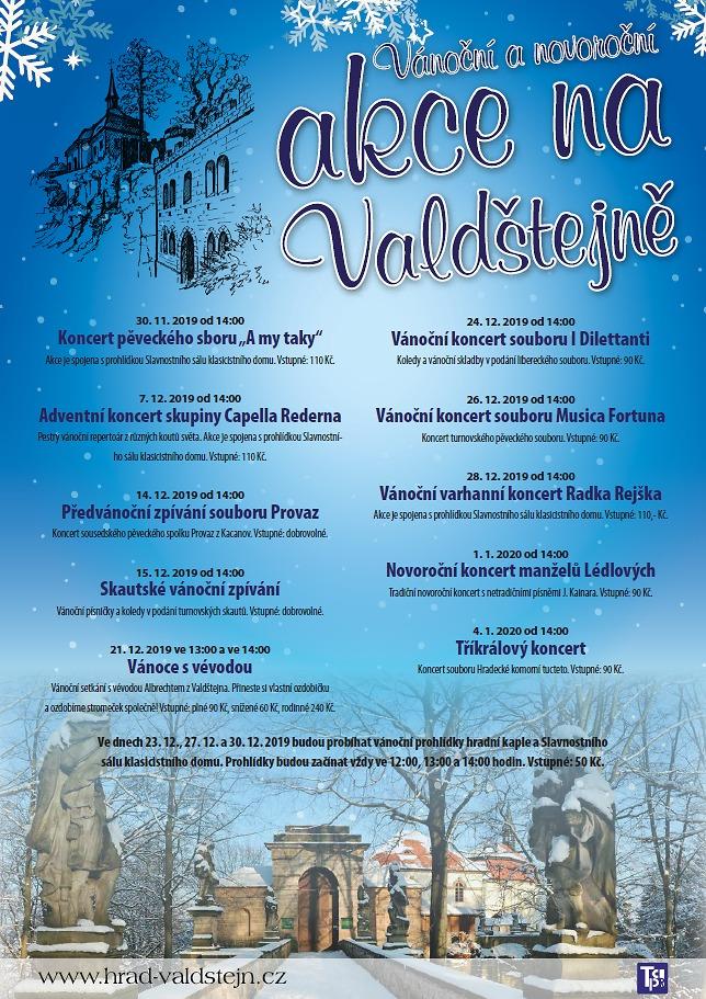 Vánoční akce na Valdštejně