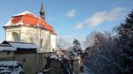 Valdštejnská kaple v zimě