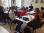 Osmáci ze Žižkovky se zúčastnili dílen tvůrčího psaní