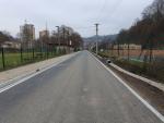 Rekonstruovaná ulice Obránců míru v Železném Brodě