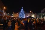 Slavnostní rozsvícení vánočního stromu v Semilech 2019
