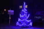 Vánoční stromek na Tigridově náměstí v Semilech