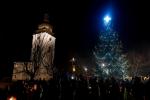 Slavnostní rozsvícení vánočního stromu v Bozkově 2019