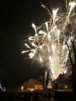 Slavnostní rozsvícení vánočního stromu v Košťálově