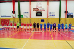 Utkání futsalové 2. ligy západ FC Dalmach Turnov - FK Kladno