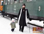 Andělské projížďky v parním vlaku s mikulášskou nadílkou 2019
