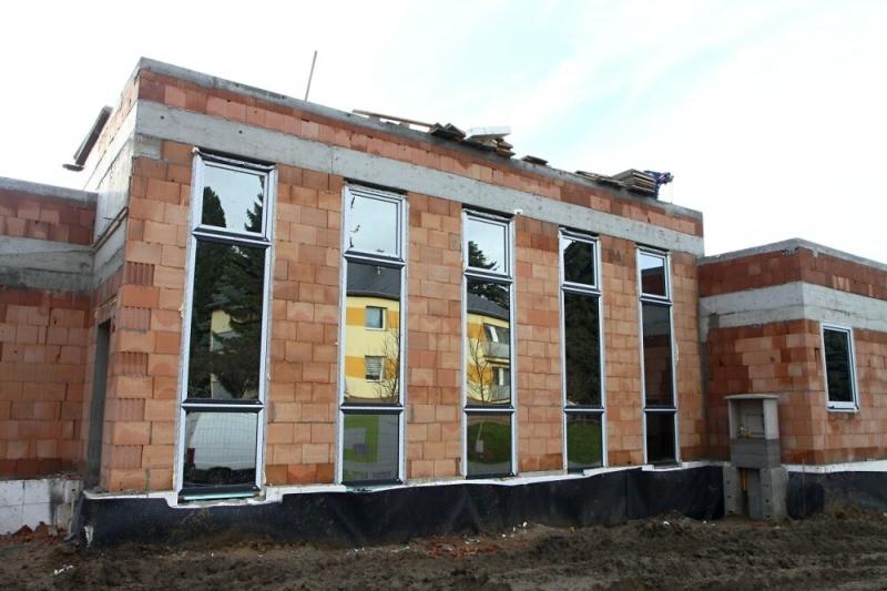 Výstavba Alzheimer centra v Turnově na začátku prosince 2019<br />Autor: Zdenka Štrauchová