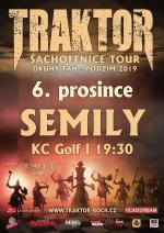 Koncert kapely Traktor v KC Golf Semily
