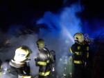 Požár chaty v Liberci - Machnín