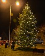 Rozsvícení stromu s Mikulášskou nadílkou v Libštátě 2019