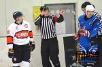 Utkání Liberecké hokejové ligy HC Turnov 1931 - HC Lomnice n. P.