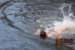 První oficiální ročník Vánočního plavání na Jizeře v Semilech